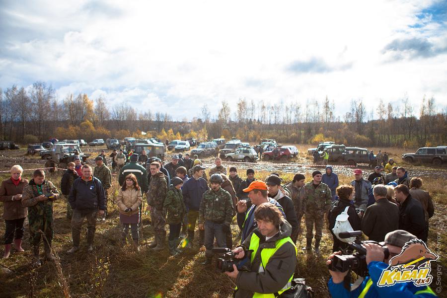 Уже на втором мероприятии собралось около 90 экипажей